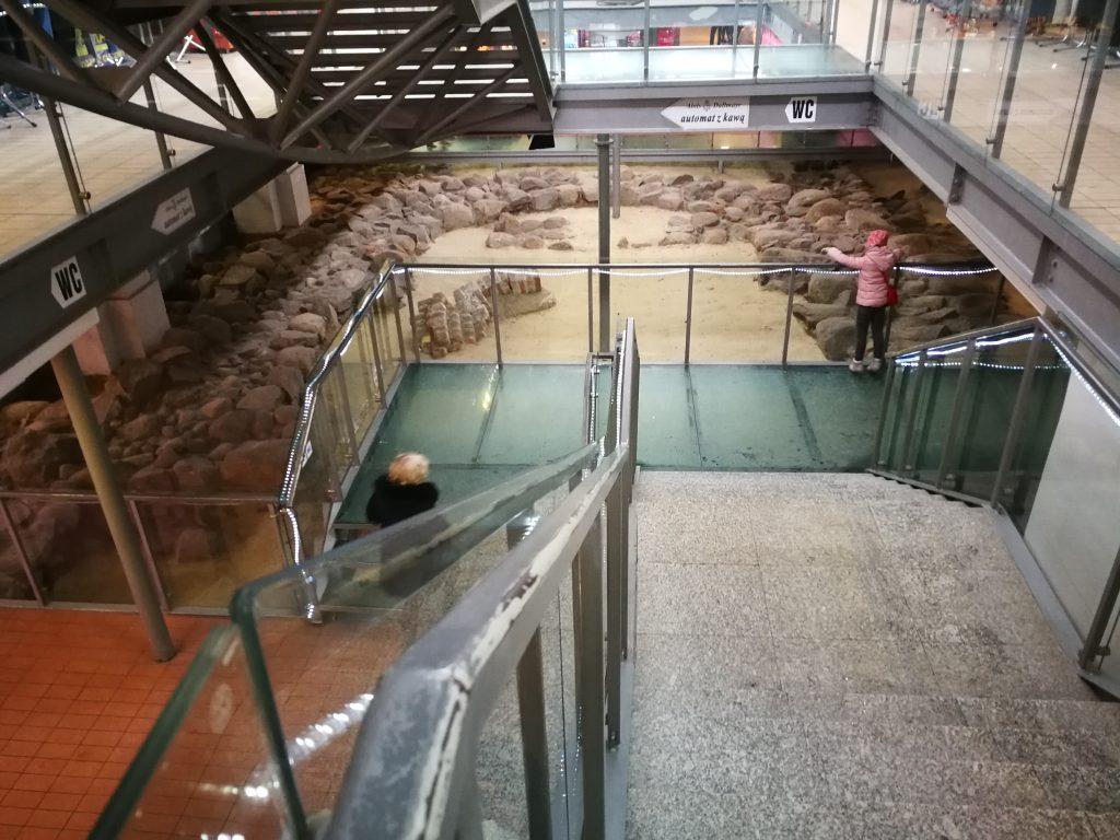 El Mercado de Gdansk; las excavaciones arqueológicas; Foto Ania Anna Kotula de Tour Guide Service Gdansk