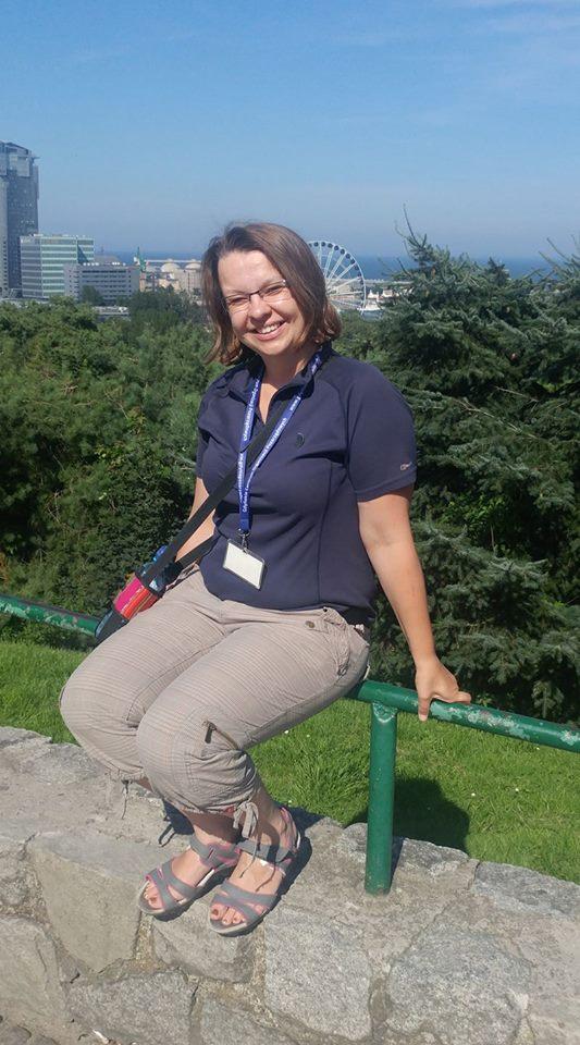 Ania Anna Kotula, guía turística en Gdansk