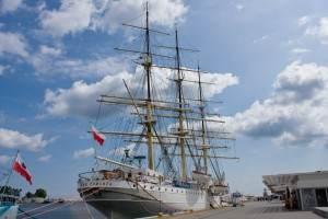 Gran Velero Dar Pomorza en Gdynia