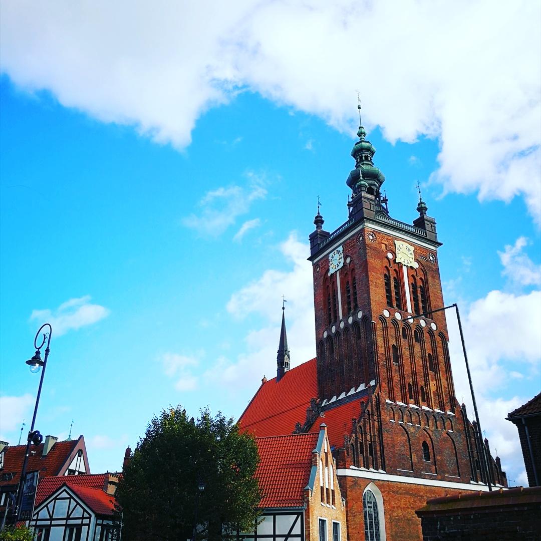 La iglesia de Santa Catalina, Gdansk, Polonia, Foto Ania Anna Kotula de Tour Guide Service Gdansk