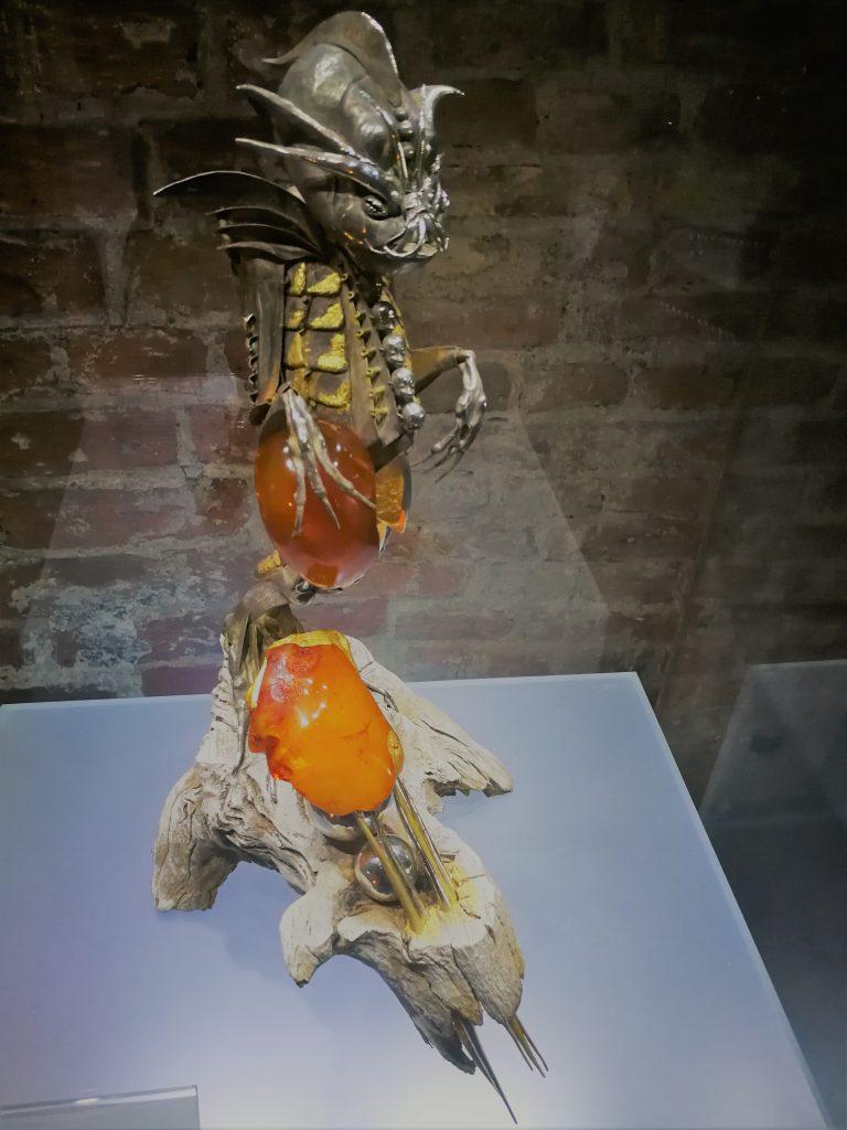 el museo del ámbar en Gdansk
